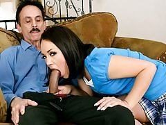 Kristina Rose Porking Her Step-dad